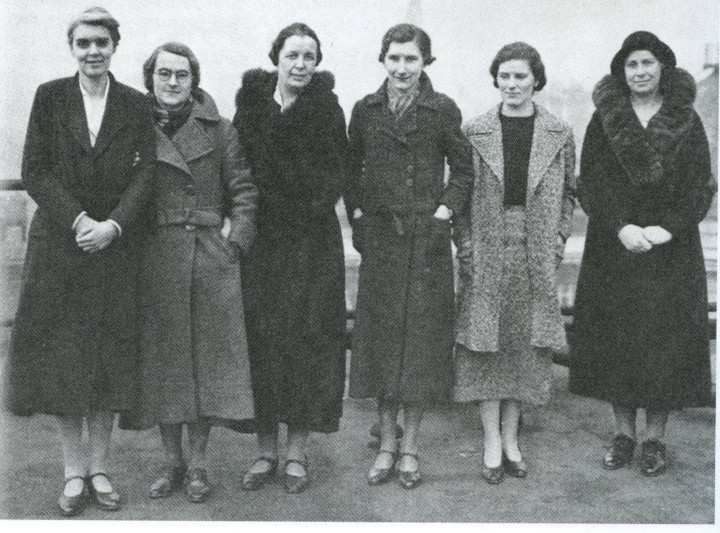 Early pioneers of the Women's Engineering Society